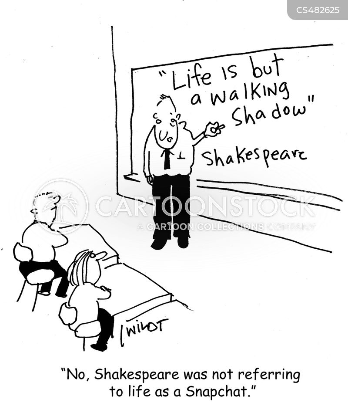 complete works of shakespeare cartoon
