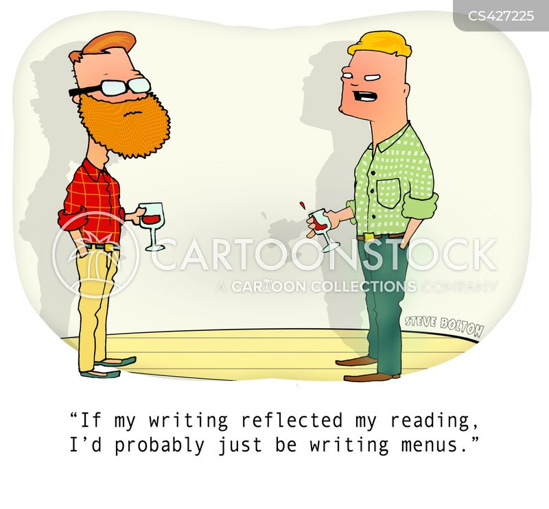 writing style cartoon