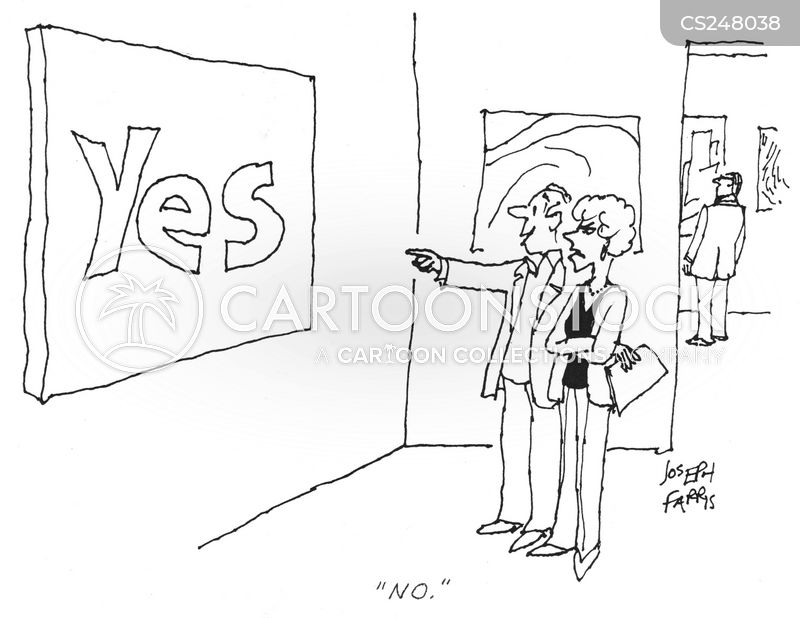 art exhbitions cartoon
