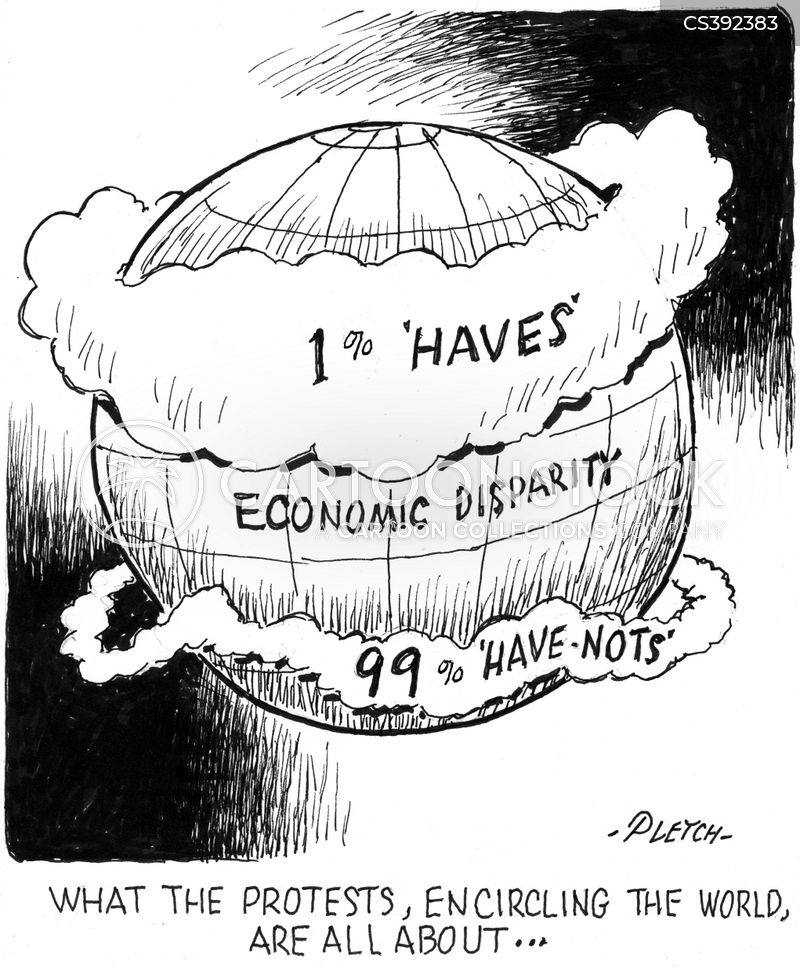 economic disparity cartoon