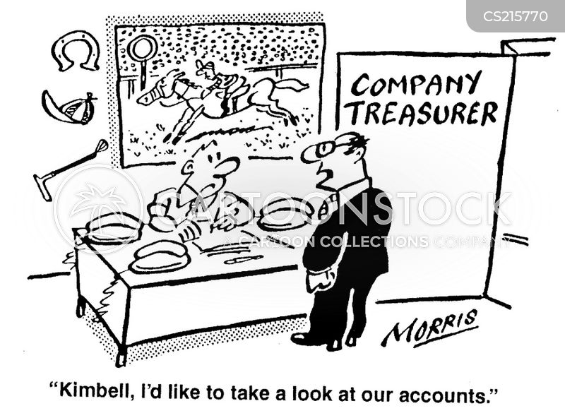 company treasurer cartoons and comics funny pictures from cartoonstock