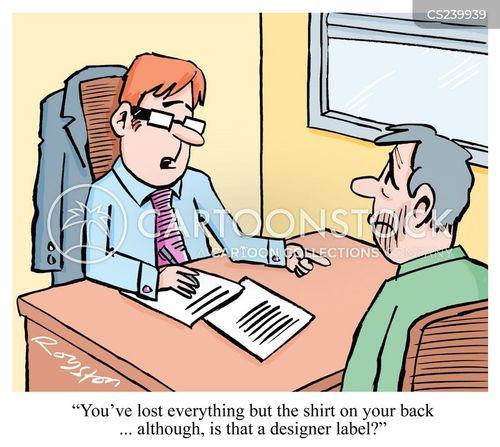 liquidation cartoon
