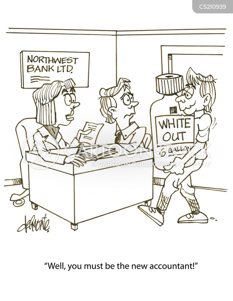 white out cartoon