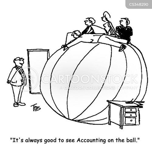 on the ball cartoon