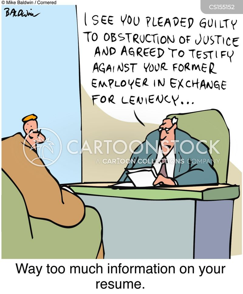 obstruction of justice cartoons and comics