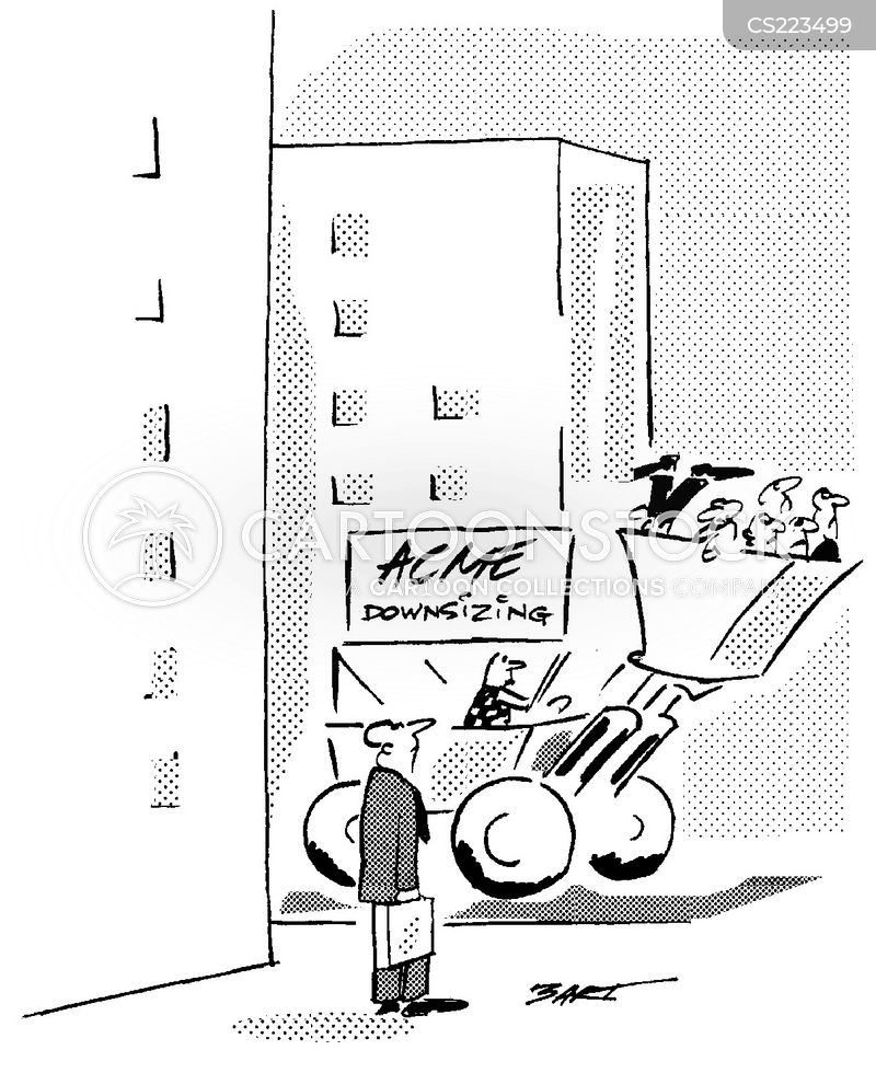 Downsizers Cartoons And Comics Funny Pictures From