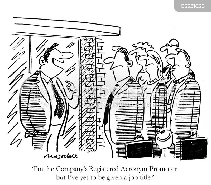 Business Acronyms Cartoons And Comics Funny Pictures