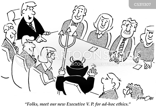 executive vice president cartoon