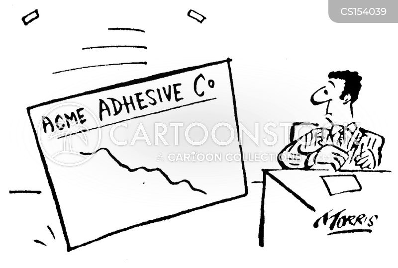 adhesive cartoon