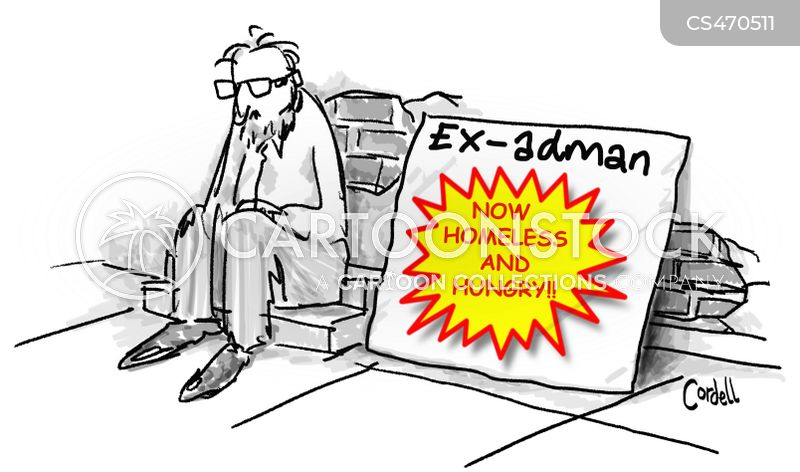 ad man cartoon