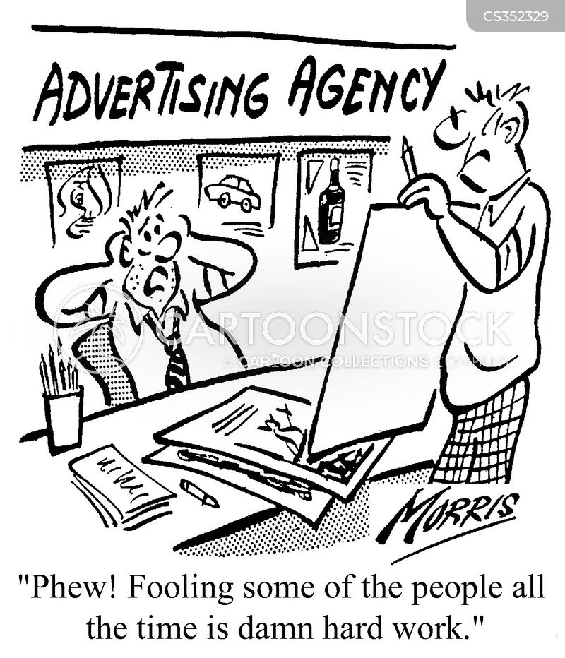 Adverising Cartoons and Comics - funny pictures from CartoonStock