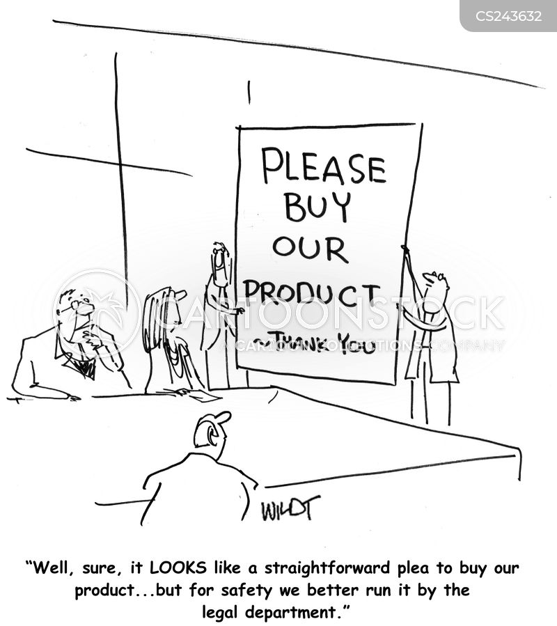 law suits cartoon