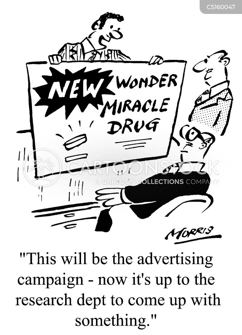 wonder drugs cartoon