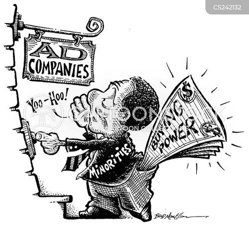 buying power cartoon