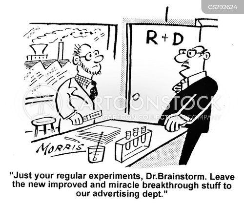 advertising department cartoon