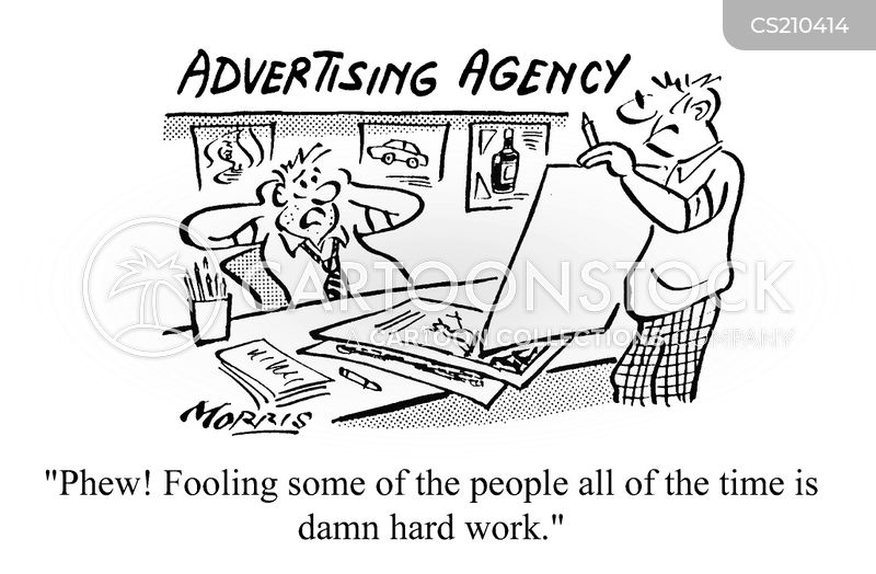 advertisments cartoon