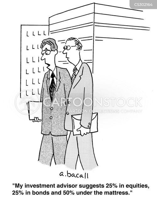 equities cartoon