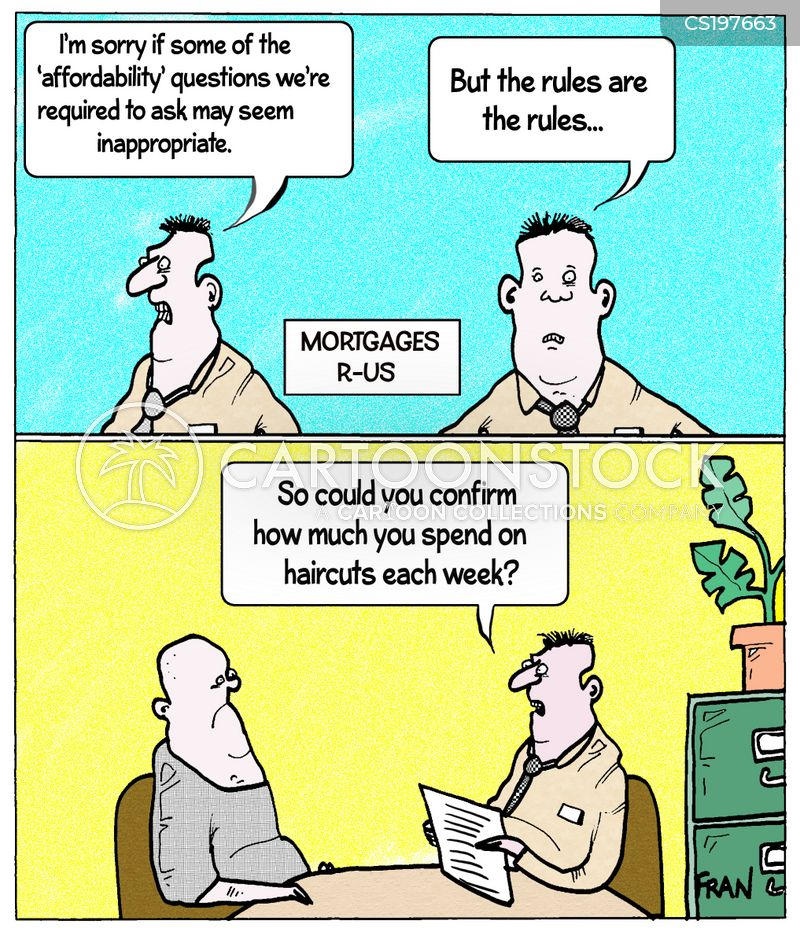 financial history cartoon