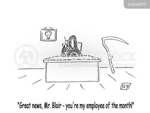 blair cartoon