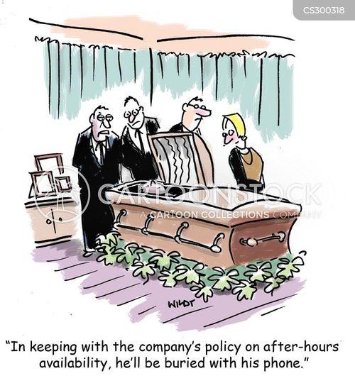 on call cartoon