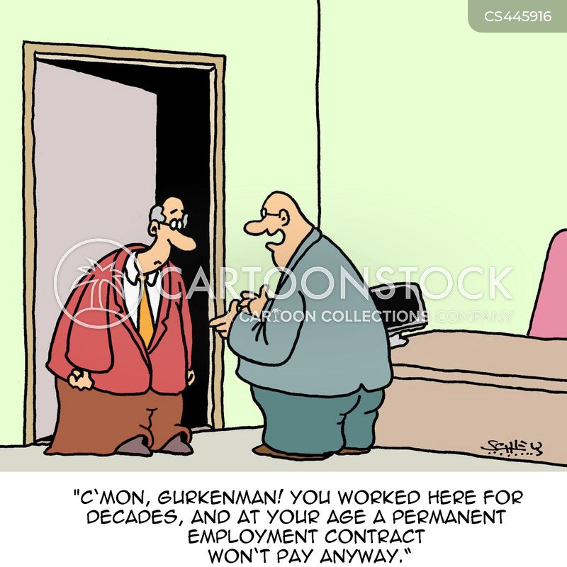 temporary employment cartoon
