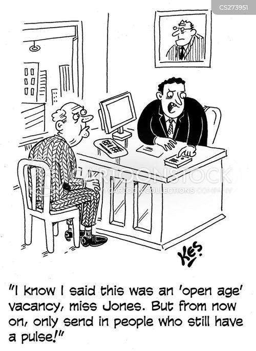 agist cartoon