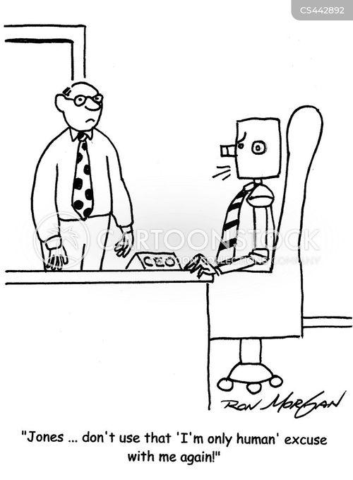 only human cartoon
