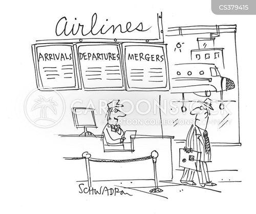 arrival cartoon
