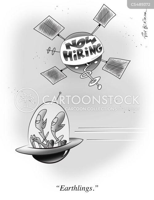 space probe cartoon