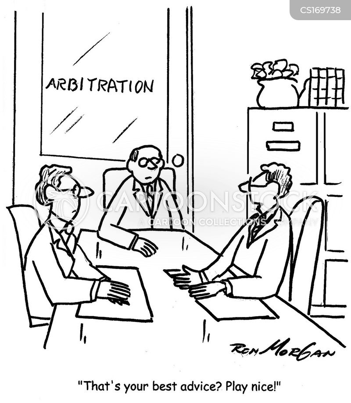 negotiate cartoon