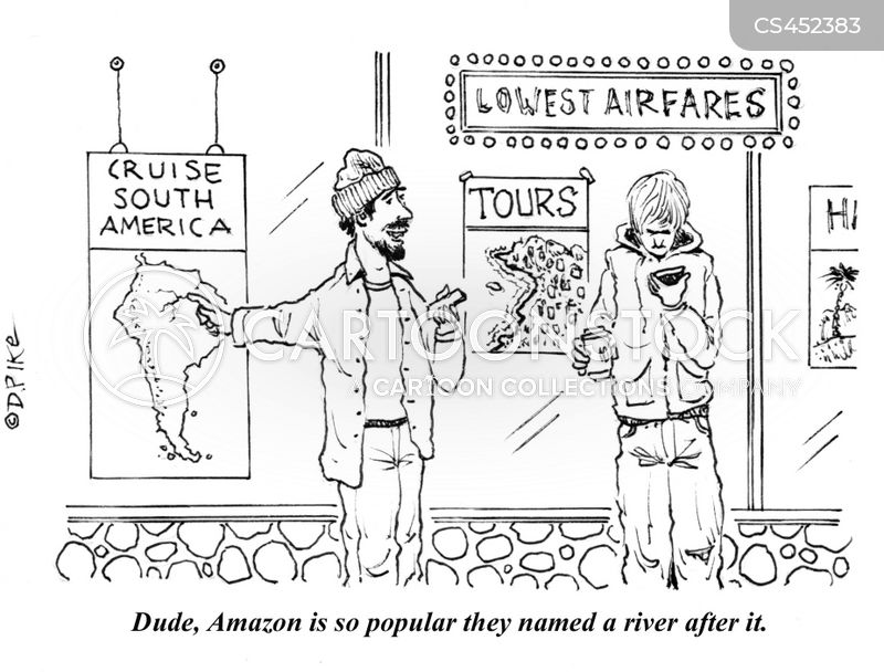 south america cartoon