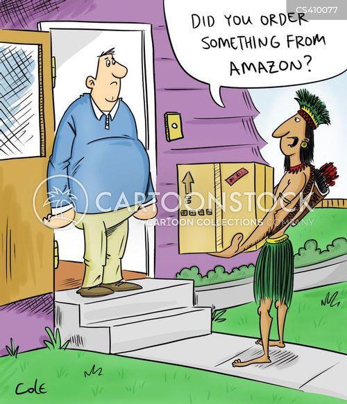 amazonians cartoon