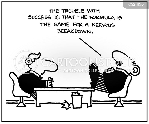 nervous breakdowns cartoon