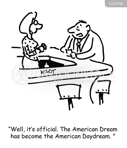 day dreaming cartoon
