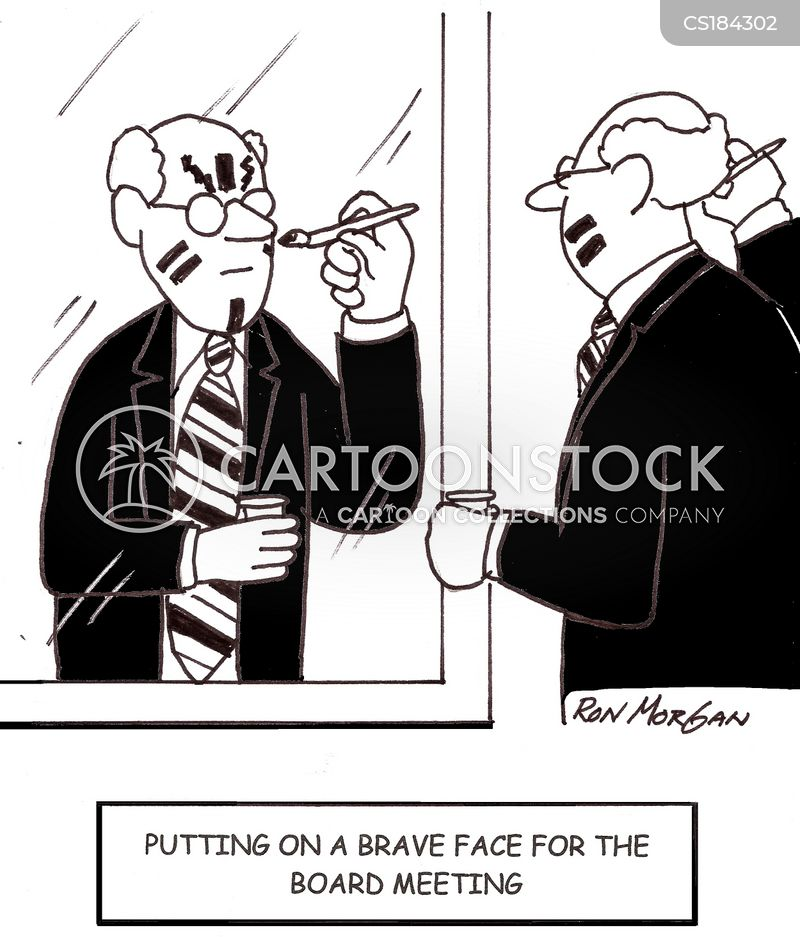 Face Paints Cartoons and Comics - funny pictures from CartoonStock