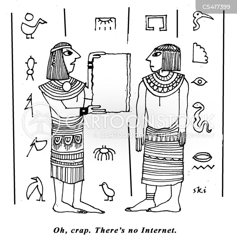 hieroglyph cartoon