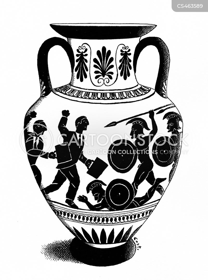 Greek Vases Cartoons And Comics Funny Pictures From Cartoonstock