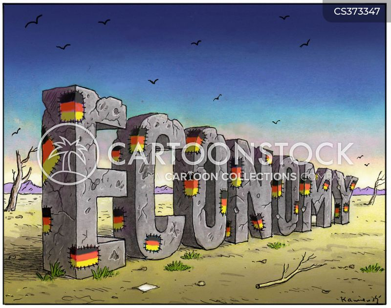 german economy cartoon