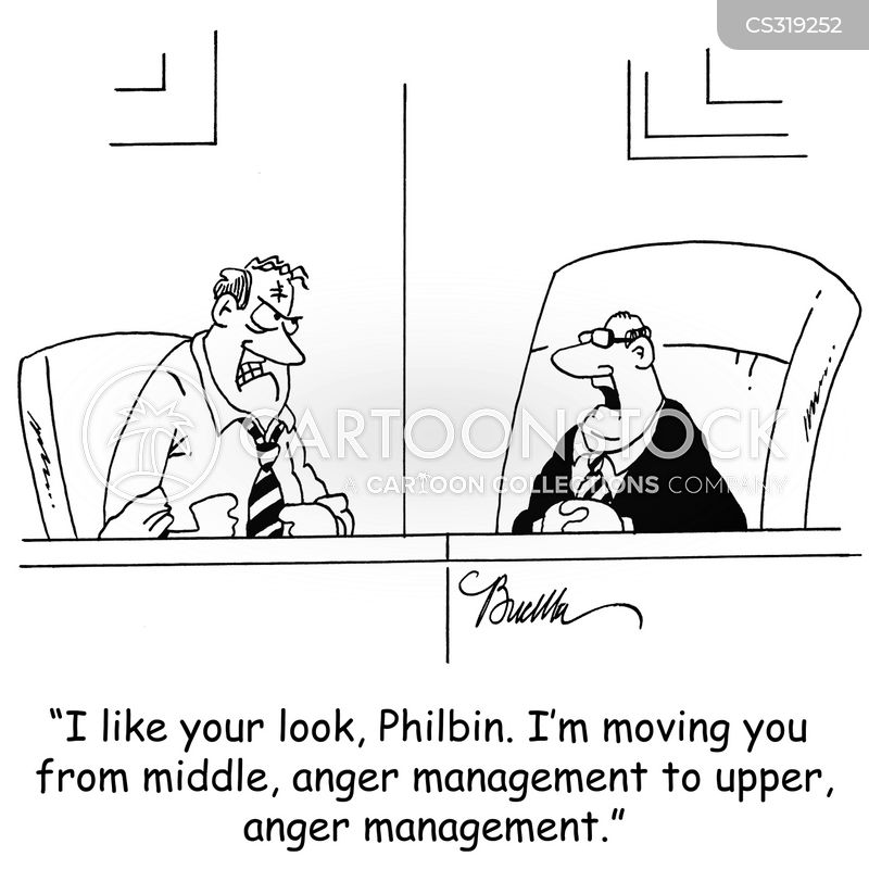 upper manager cartoon