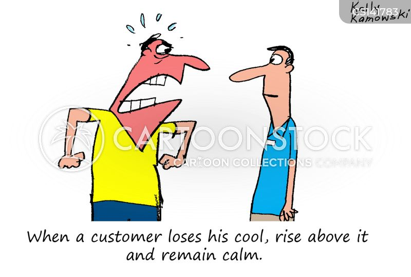 Angry Customer cartoons, Angry Customer cartoon, funny, Angry Customer picture, Angry Customer pictures, Angry Customer image, Angry Customer images, Angry Customer illustration, Angry Customer illustrations