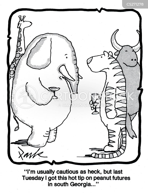 cautiousness cartoon