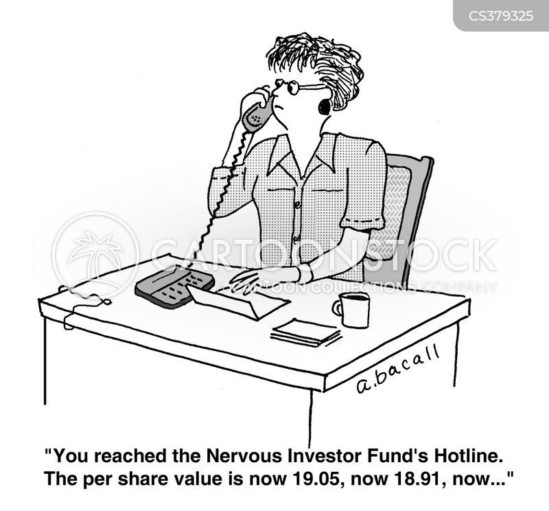 nervously cartoon