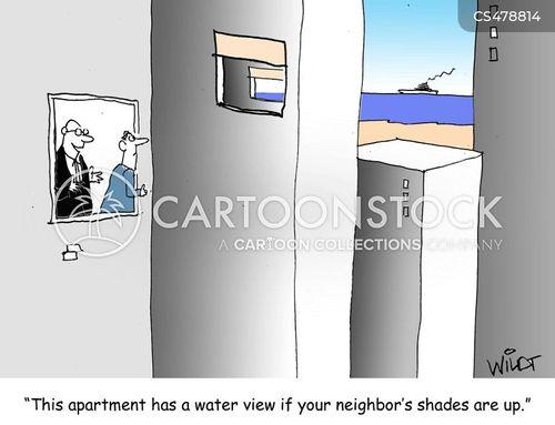 water views cartoon