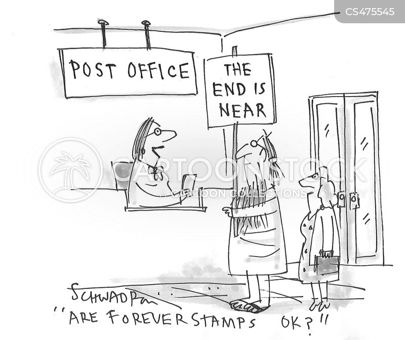 forever stamp cartoon