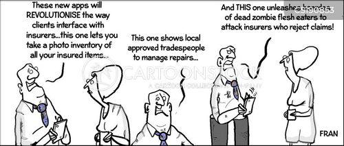 insurance industry cartoon