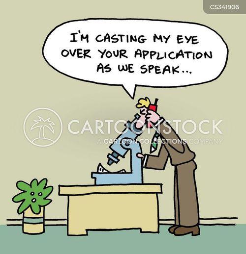 application forms cartoons and comics