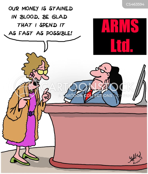 armsdealer cartoon