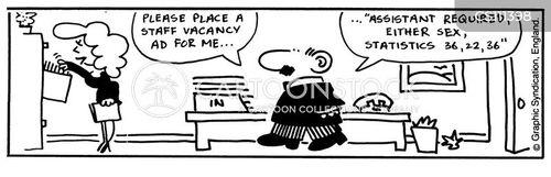 vacancy ad cartoon