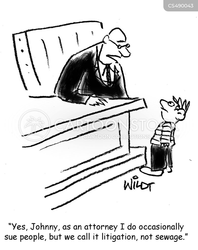 litigious societies cartoon