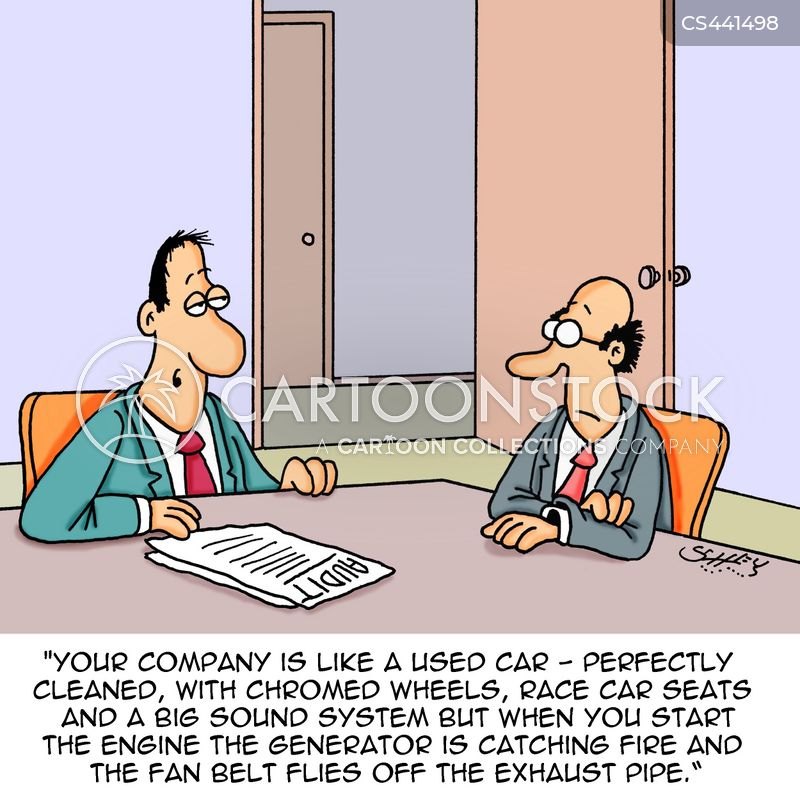 business finance cartoon